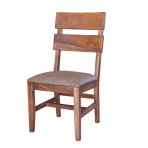 Parota Slat Back Uph Chair