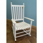 White Coastal Rocker