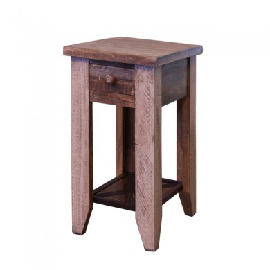 Arcadia Antiqued Side Table