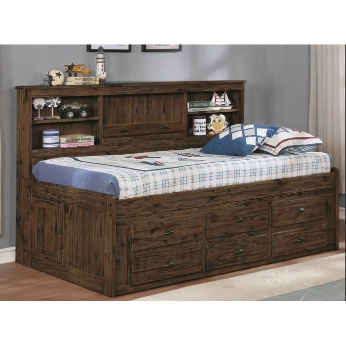 Generations Home Furnishings: Acacia Chestnut Daybed [Twin]