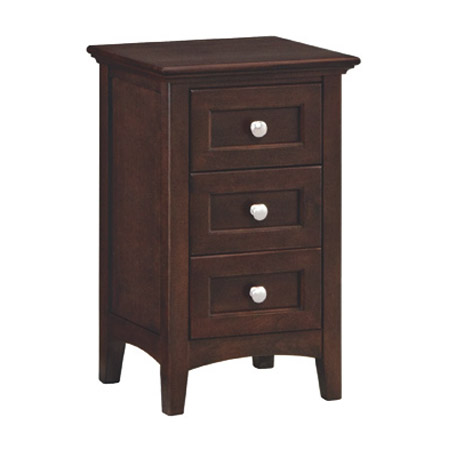 small bedroom nightstands three drawer nightstand narrow generations 13251